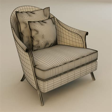 christopher guy armchair christopher guy poltrona armchair 3d model max obj 3ds fbx cgtrader com