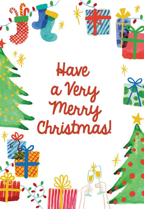 holiday  christmas card   island