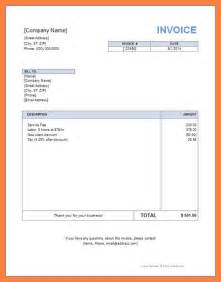 Self Employment Invoice Template Self Employed Invoice Template Uk Free Invoice Template