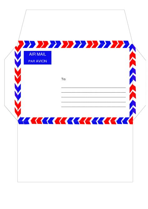 template mail air mail template by cpchocccc on deviantart