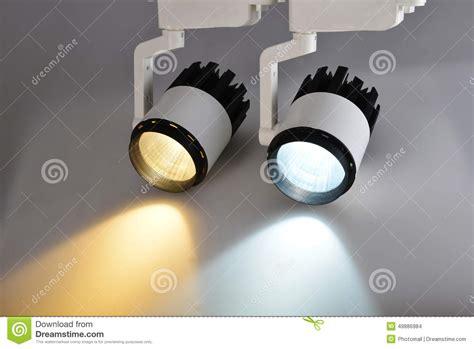 regular incandescent light bulbs two commercial led l stock illustration image 49886984