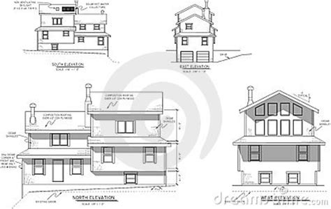 Kentuck Knob Floor Plan house plans elevation view stock photography image 10527492