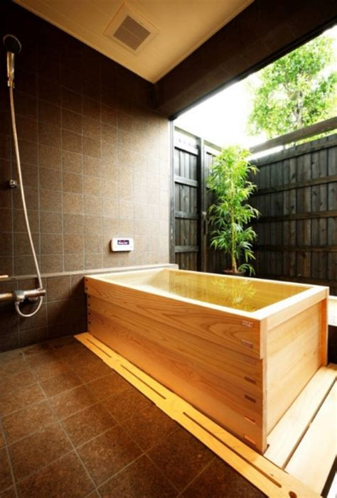 japanese style bathtub japanese soaking bathtub with wooden ideas
