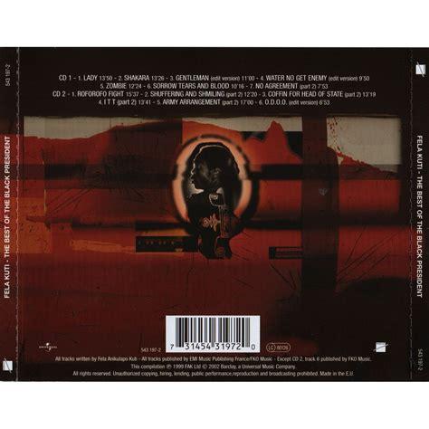 fela kuti best album the best of the black president cd2 fela kuti mp3 buy