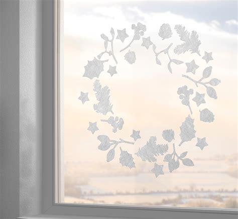 Sichtschutz Fenster Gecko by Fensterdeko Winter Advent Weihnachten Gecko In The Box