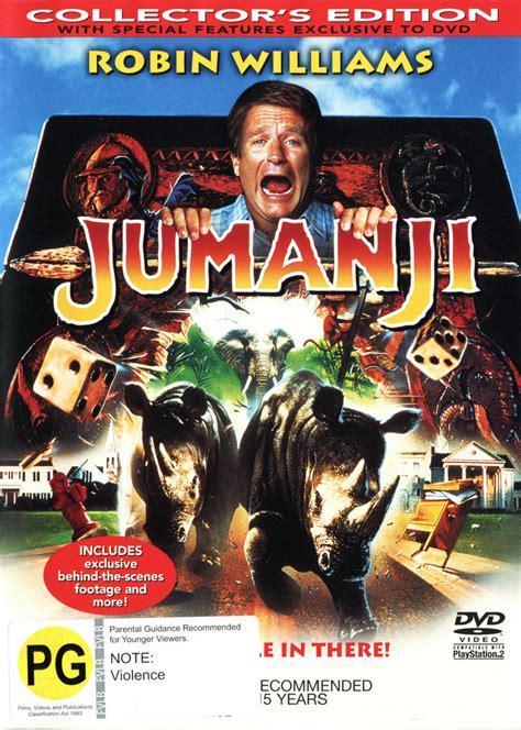 jumanji movie vs book jumanji collector s edition dvd buy now at mighty ape nz