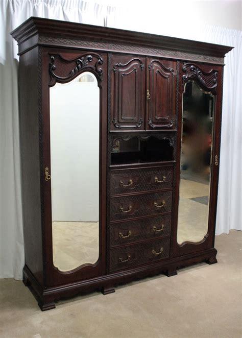 edwardian compactum wardrobe 257350 sellingantiques co uk
