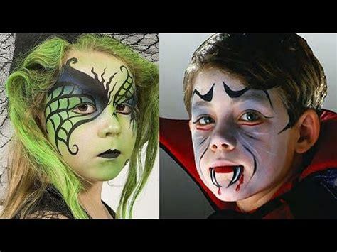 imagenes de maquillaje halloween para niños halloween maquillaje para ni 241 os diy ideas f 225 ciles youtube