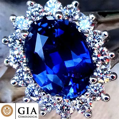 Blue Sapphire 1 9 Ct 1 61 ct unheated blue sapphire and