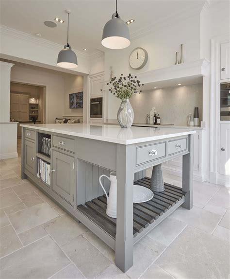 shaker kitchen island grey shaker kitchen tom howley