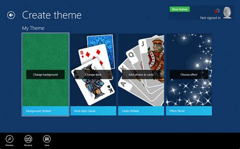 themes for microsoft solitaire collection microsoft revs its old games in windows 8 windows 10