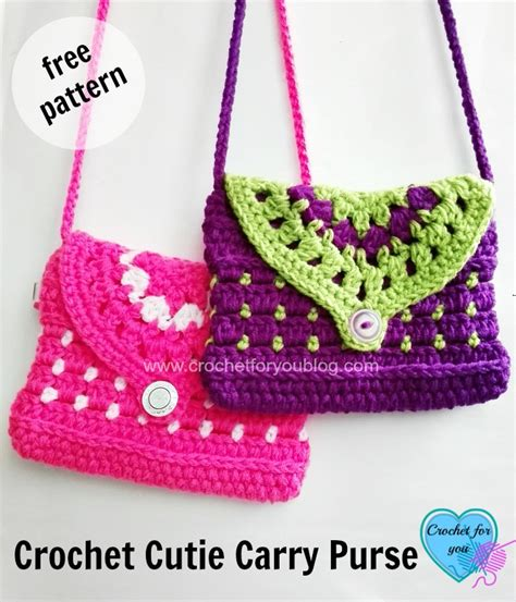 use this envelope purse free crochet pattern to create a free crochet cutie carry purse pattern crochet for you