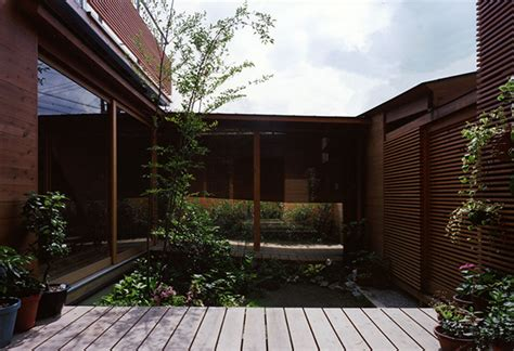 Micro Homes Interior by Japanese Wooden Houses Courtyard Multi Level Decks And A