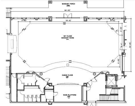 banquet hall floor plan architectural designs wedding halls joy studio design