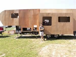 Prowler Fifth Wheel Floor Plans how this man built his own diy rv slide out