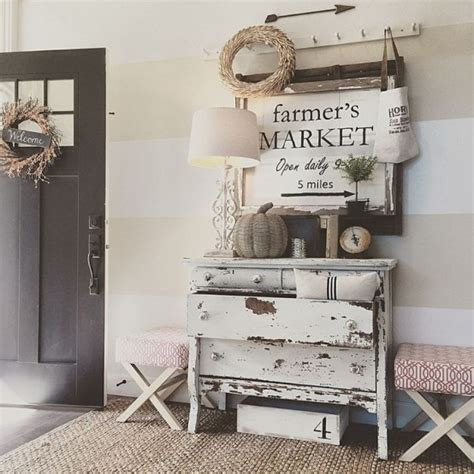 farm decorations for home 27 cozy and simple farmhouse entryway d 233 cor ideas digsdigs