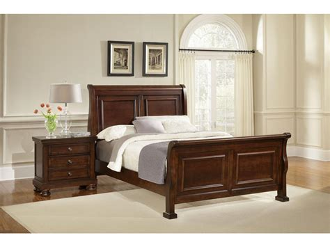 kittles bedroom furniture vaughan bassett furniture company youth reflections sleigh