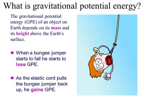 exle of gravitational potential energy starter list the different types of potential energy