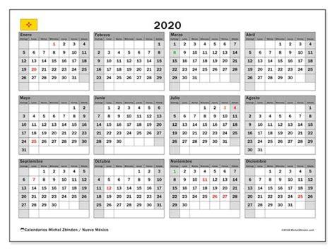 calendario  nuevo mexico eeuu calendario  imprimir gratis almanaques