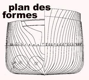dessin bateau laser construction d une coque en bois