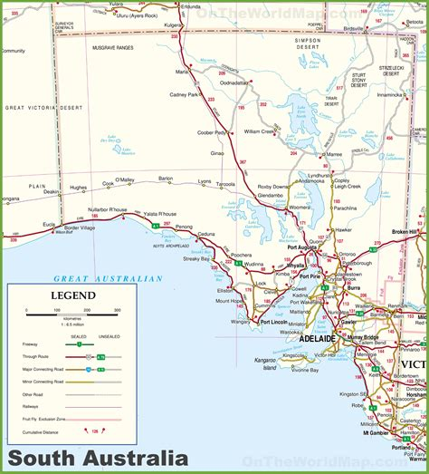map of southern australia with cities map of southern australia with cities my