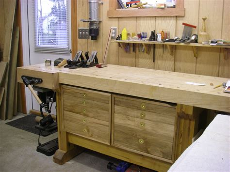 homemade tool bench tool cabinet for a workbench by need2boat lumberjocks