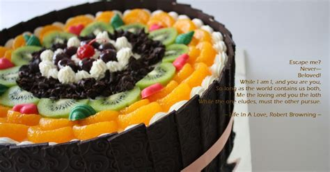 dapur solia fruity black forest