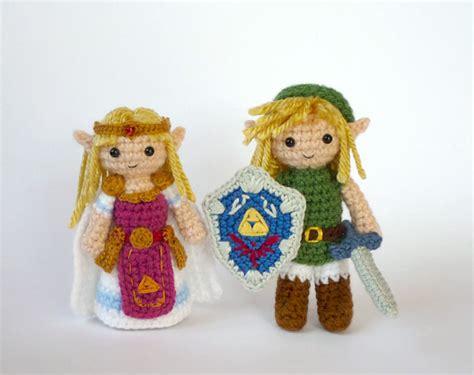 zelda amigurumi pattern link and zelda amigurumi sprite stitch
