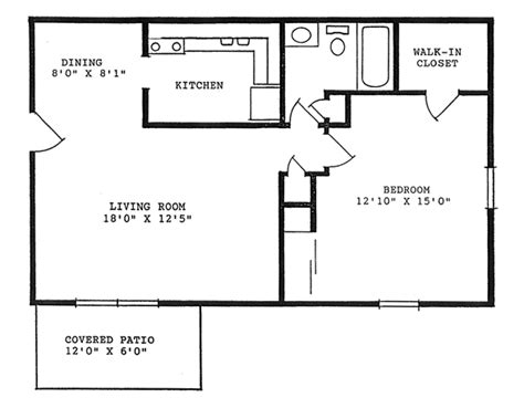 760 square one bedroom tippecanoe apartments