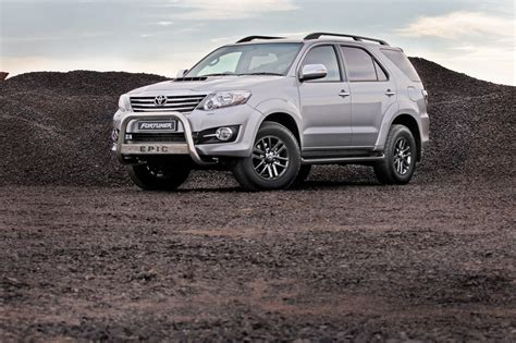 Toyota Epic Toyota Fortuner Epic Edition Indian Autos