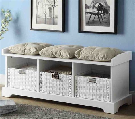 white bench with cushion white storage bench with cushion home furniture design