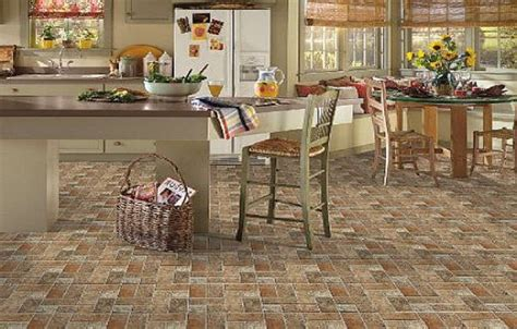 tile floor kitchen ideas kitchen flooring tips designwalls com