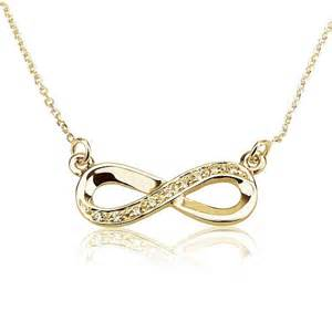Infinity Pendant Necklace Infinity Necklace Gold Infinity Pendant By