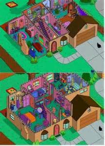 742 Evergreen Terrace Floor Plan by Animation Domination On Pinterest Bobs Burgers Futurama