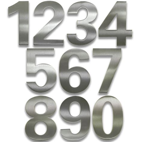 house numbers adhesive house numbers bold in house numbers
