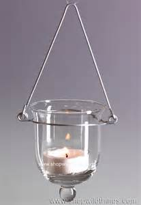 Hanging Glass Candle Holders Hanging Glass Votive Candle Holders Shopwildthings
