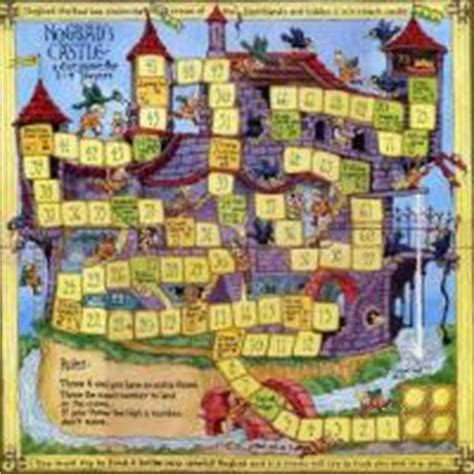 free printable board games for adults castle board game