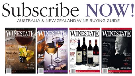 Win A Wine Knot And A Subscription To Wine Spectator by Winestate Magazine The Definitive Guide To Wine