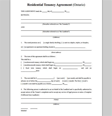 house rental agreement sle of house rental agreement