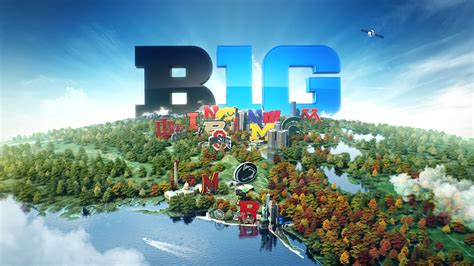 big ten map big ten map on vimeo
