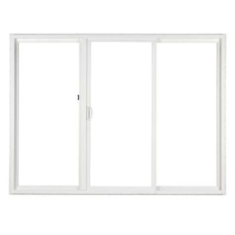 Home Depot Patio Door by Simonton 120 In X 80 In 3 Panel Vinyl