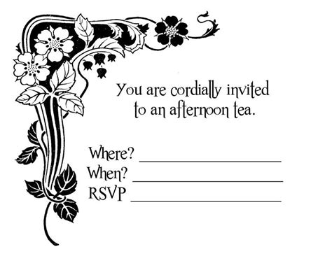 party and birthday invitation you are cordially invited template