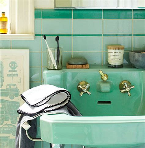 Favorite Designer Mint by My Favorite Mint Green Bathrooms A Vintage Splendor