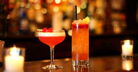 Top 5 Bar Drinks by 1 The New Liquor Level Low Or No Cocktails The Drink Nyc The Best Happy Hours