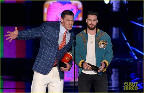 john cena aaron taylor johnson movie the wall s john cena aaron taylor johnson buddy up at