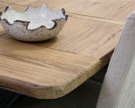tavoli in legno naturale tavolo legno naturale base ferro etnico outlet mobili etnici