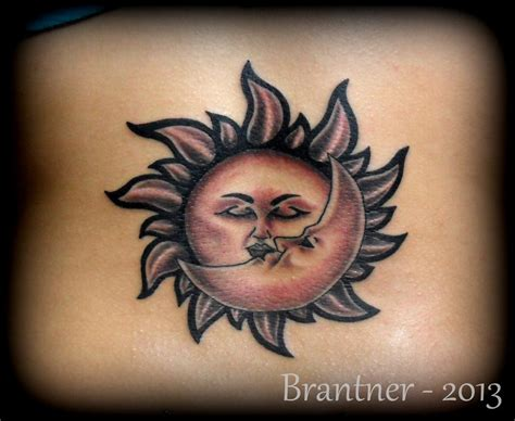 sun and moon tattoo designs moon sun pictures to pin on tattooskid