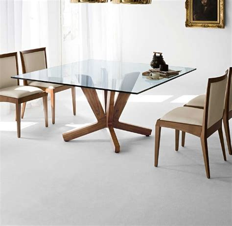 glass top dining tables with wood base 40 glass dining room tables to rev with from rectangle