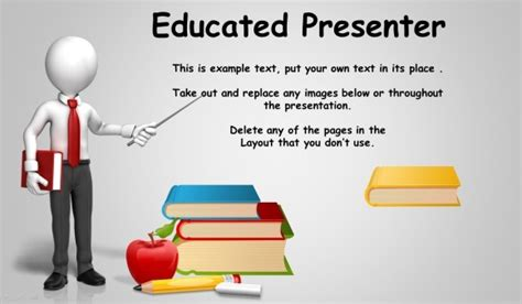Animated Blackboard Template For Educational Powerpoint Presentations Powerpoint Presentation Templates With Animation