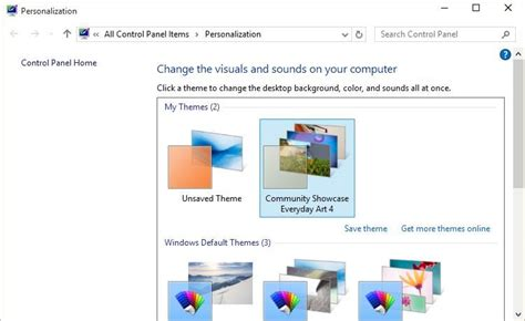 get themes pc everything windows 10 how to change the default theme in